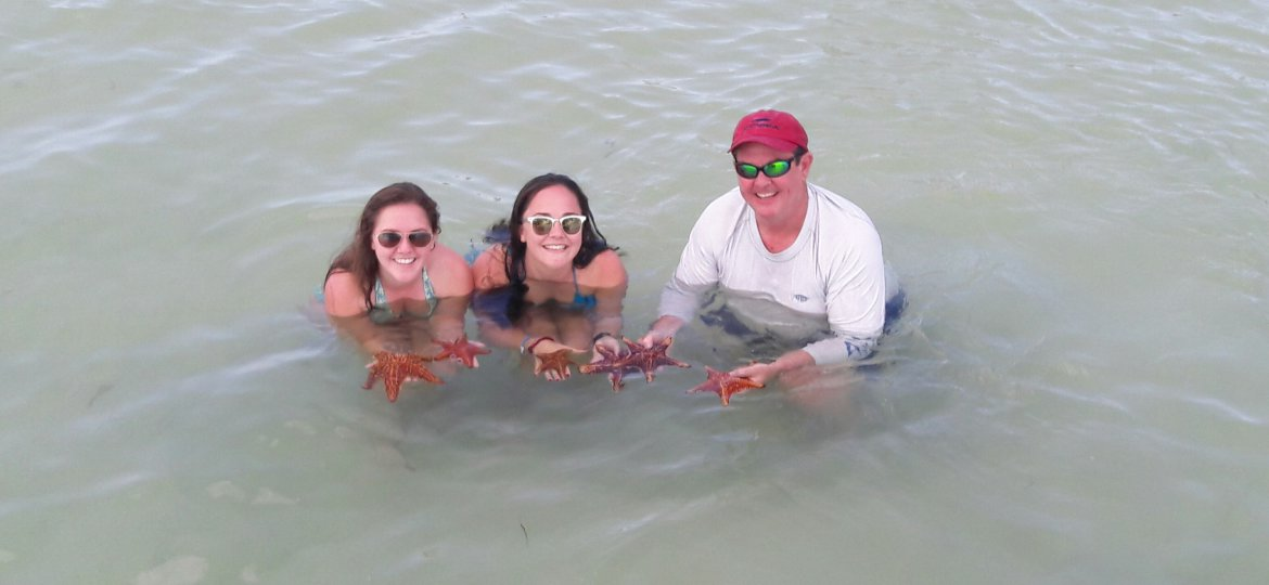 Guest at Starfish Point