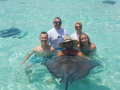 stingray & family