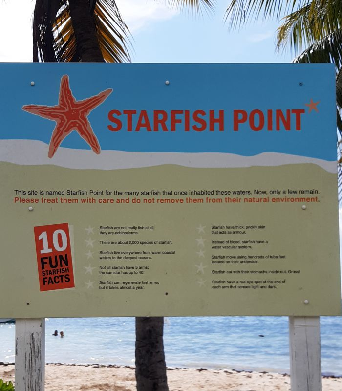 Starfish Point sign 2